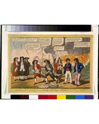 British Cartoon Prints : the Fall of Was... by Library of Congress