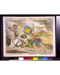 British Cartoon Prints : Sin, Death, and... by Gillray, James