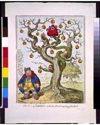 British Cartoon Prints : the Tree of Lib... by Gillray, James