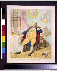 British Cartoon Prints : a Voluptuary Un... by Gillray, James