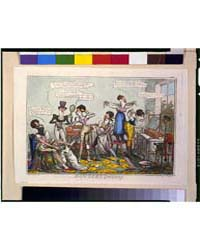 British Cartoon Prints : Dandies Dressin... by Cruikshank, Robert