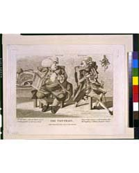 British Cartoon Prints : the Contrast R ... by Dighton, Robert