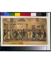 British Cartoon Prints : Monday After th... by Cruikshank, Robert
