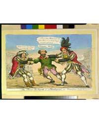 British Cartoon Prints : the Rival Richa... by Heath, William
