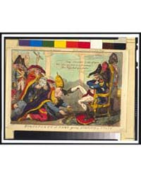 British Cartoon Prints : Buonaparte at R... by Cruikshank, Isaac