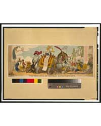 British Cartoon Prints : the Rehearsal o... by Cruikshank, George