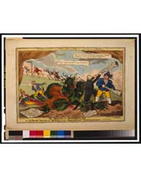 British Cartoon Prints : the Death of th... by Cruikshank, George