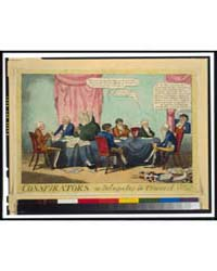 British Cartoon Prints : Conspirators ; ... by Cruikshank, George