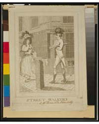 British Cartoon Prints : Street Walkers ... by B. Smith