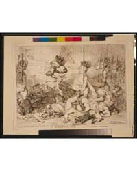 British Cartoon Prints : a March to the ... by Gillray, James