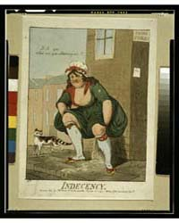 British Cartoon Prints : Indecency I Ck ... by Cruikshank, Isaac