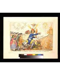 British Cartoon Prints : the Prophet of ... by Gillray, James