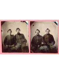 Two Pairs of Unidentified Soldiers in Un... by Library of Congress