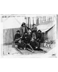 Petersburg, Virginia. Group of Engineers... by O'Sullivan, Timothy, H.