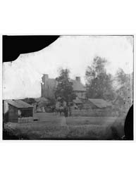 Manassas, Virginia. Yellow Hospital, Pho... by Library of Congress