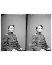 Maj. Thomas Gibson, 14Th Pa Cav, Photogr... by Libary of Congress