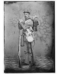 Sgt. Joseph Dore, 7Th N.Y.S.M., Photogra... by Libary of Congress