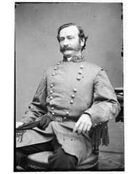 Maj. General Mansfield Lovell, Photograp... by Libary of Congress