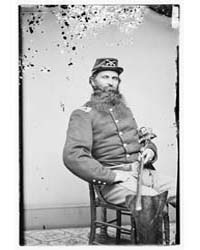 Maj. A.G. Enos, 8Th Cavalry, Photograph ... by Library of Congress