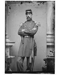 Lt. Col. E. Burt, 3Rd Maine Inf., Photog... by Library of Congress