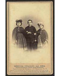 Rebecca, Charley, and Rosa, Slave Childr... by Kimball, M. H.