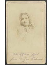 A Slave Girl from New Orleans ; Chas. Pa... by De Lamater, R. S.