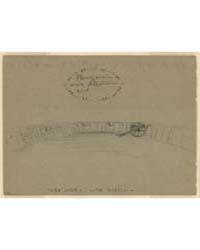 Plan of Main Work, Allatoona Cut, Photog... by Waud, Alfred R.