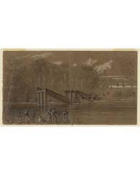 Crossing the North Edisto, Photograph Nu... by Waud, William