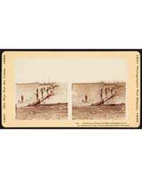Building a Pontoon Bridge at Beaufort, S... by Library of Congress