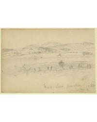Genl Lees Position, 1863, Looking, Photo... by Waud, Alfred R.