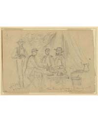 The Three Princes, Camp at Yorktown, Pho... by Waud, Alfred R.