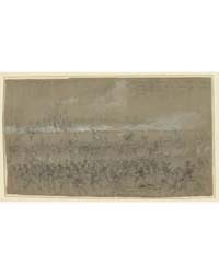 Last Stand of Picketts Men. Battle of Fi... by Waud, Alfred R.