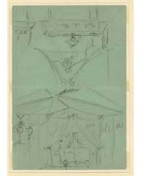 Two Sketches of Tent Interior, Photograp... by Waud, Alfred R.