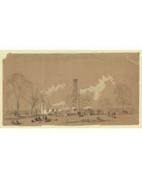 The Remains of the White Houseburned whe... by Waud, William