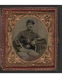 Unidentified Soldier in Union Cavalry Un... by Library of Congress