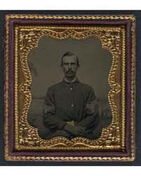 Unidentified Soldier in Union Sergeant's... by Library of Congress