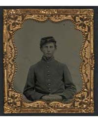 Unidentified Young Soldier in Union Unif... by Library of Congress