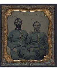 Sergeant Robert Black and Private Herman... by Library of Congress