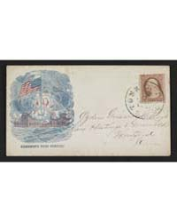 Civil War Envelope Showing American Flag... by Magnus, Charles
