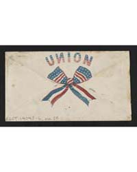 Civil War Envelope Showing on Back Red, ... by Library of Congress