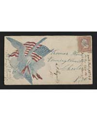Civil War Envelope Showing Eagle with Am... by Library of Congress
