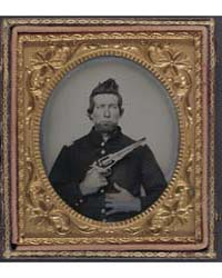 Unidentified Cavalry Soldier in Union Fr... by Library of Congress