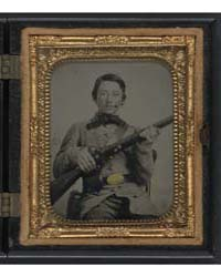 Unidentified Soldier in Confederate Unif... by Blanchard, J. W.