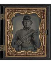 Unidentified Soldier in Uniform and Comp... by Library of Congress