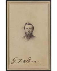 G. F. Speer, Photograph Number 32236V by Clough, Joel B.