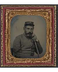 Unidentified Soldier in Confederate Sarg... by Library of Congress