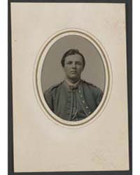 Unidentified Soldier in Union Uniform ; ... by Library of Congress