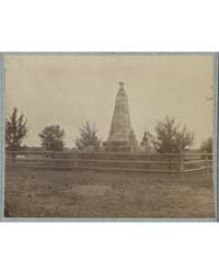 Monument on Battlefield of Bull Run, Pho... by Library of Congress
