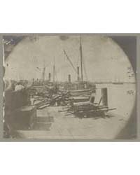 Docks in City Point, Va., Photograph Num... by O'Sullivan, Timothy H.