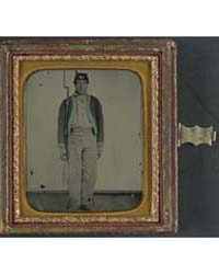 Unidentified Soldier of the 11Th Indiana... by Library of Congress